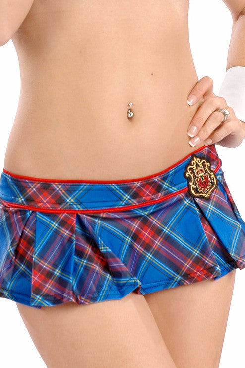 Prep School Box Pleated Garter Skirt
