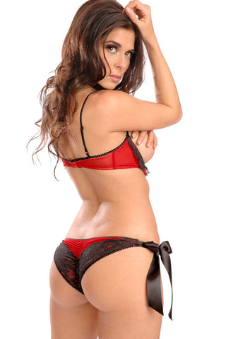 Belladonna Cheeky Side Tie Panty