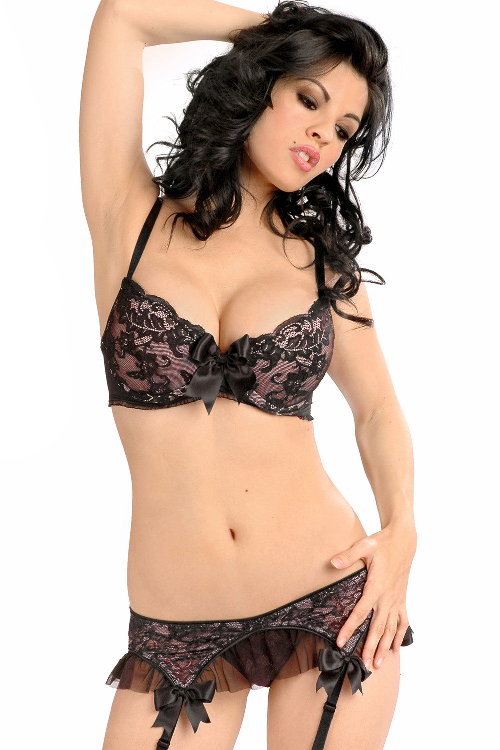 Tempest Molded Bra with Ruffle Trim