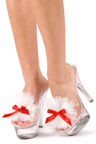 Strawberry Ho Cake Shoe Clips