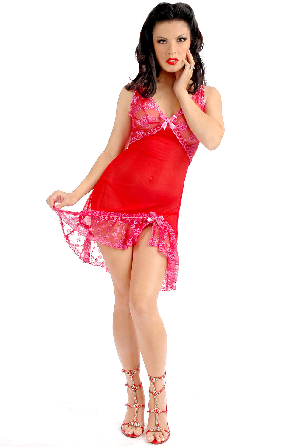 Lollipop Asymmetrical Chemise