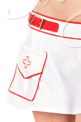 Buckle Nurse Skirt