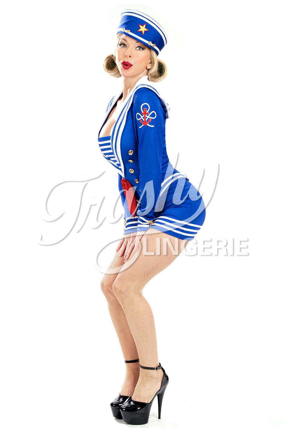 Pin-Up Sailor Long Jacket