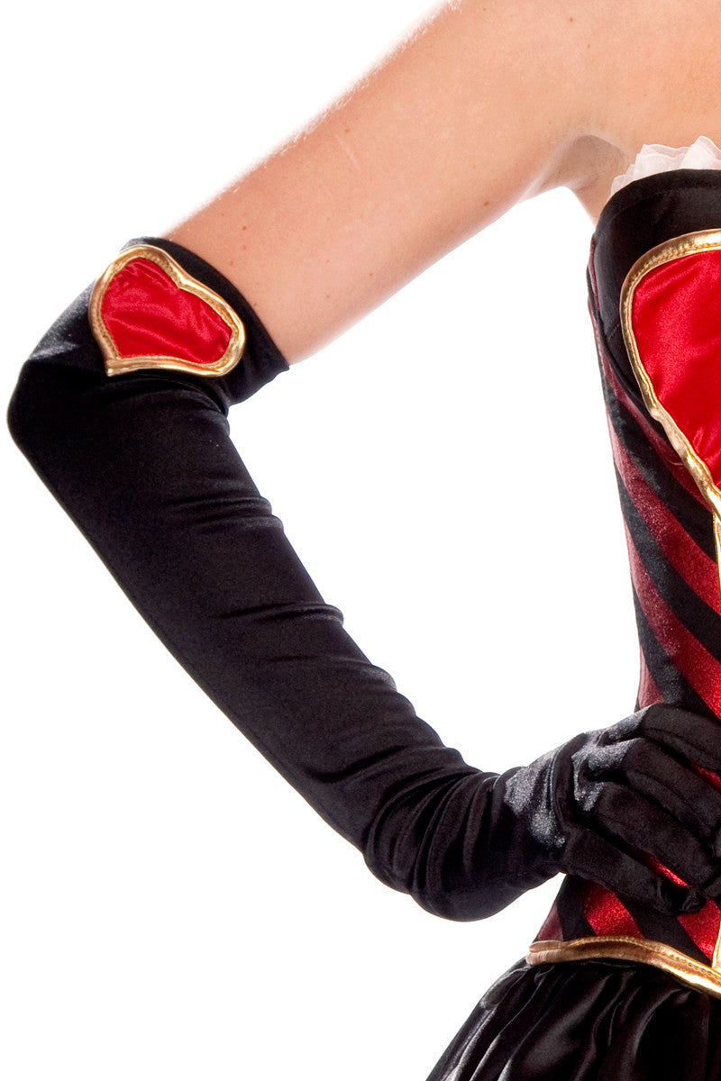 Wicked Queen of Hearts Gloves