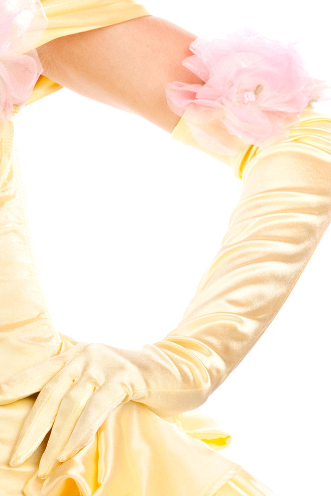 Satin Belle Gloves