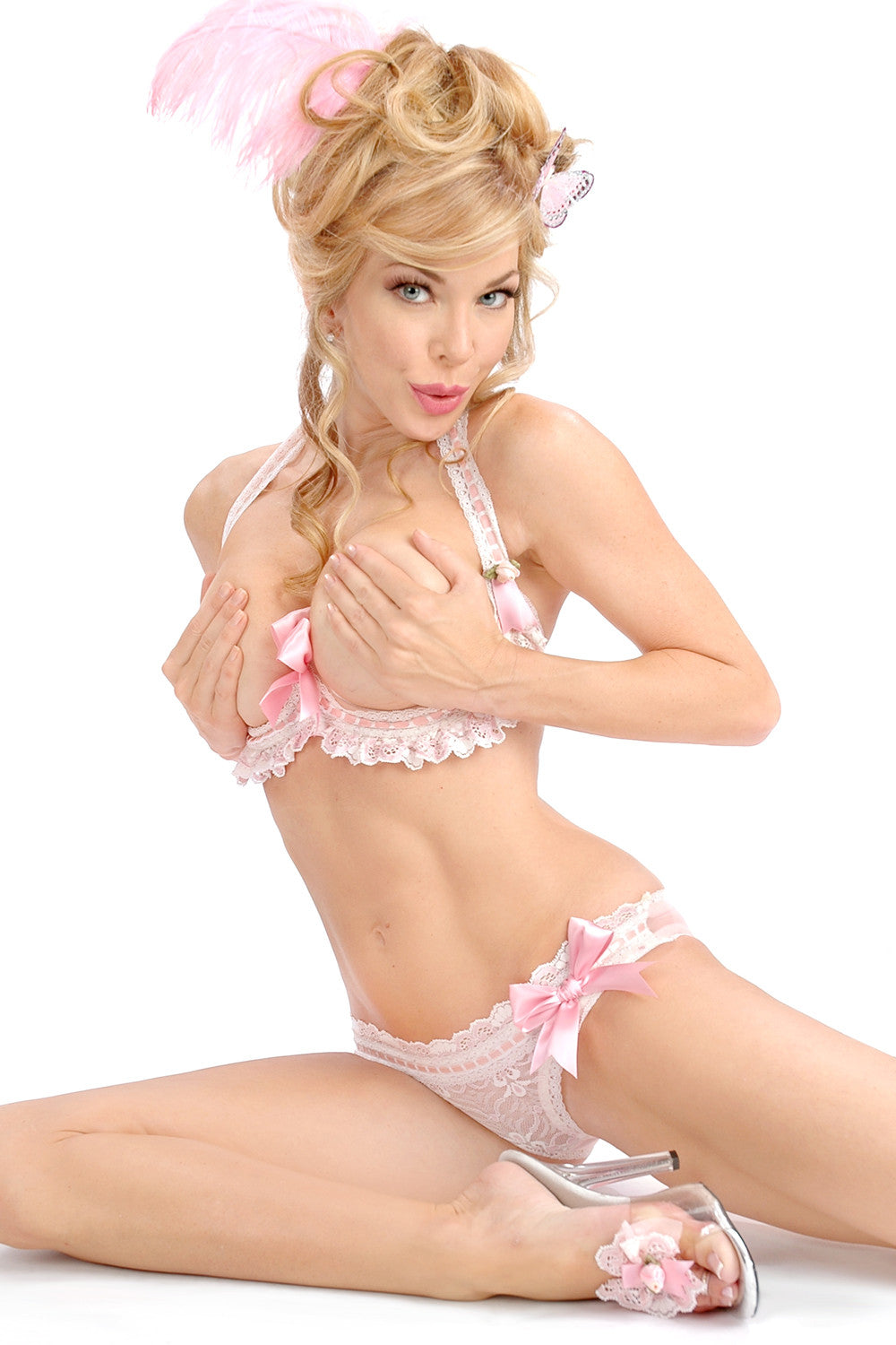 Marie Antoinette Side Bow Panty