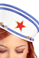 Pin-Up Sailor Hat