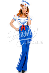 Pin-Up Sailor High Waisted Pants