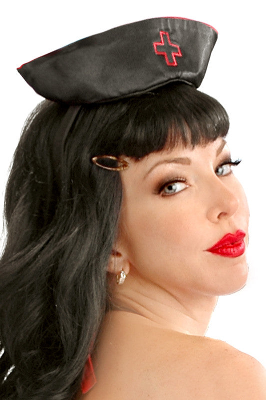 Burlesque Nurse Hat