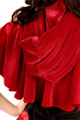 Bridget Red Riding Hood Cape