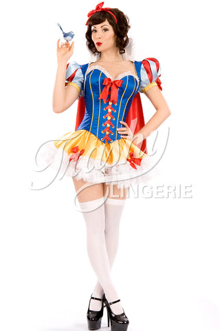 Snow White Deluxe Bolero with Cape