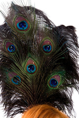 Peacock Headpiece