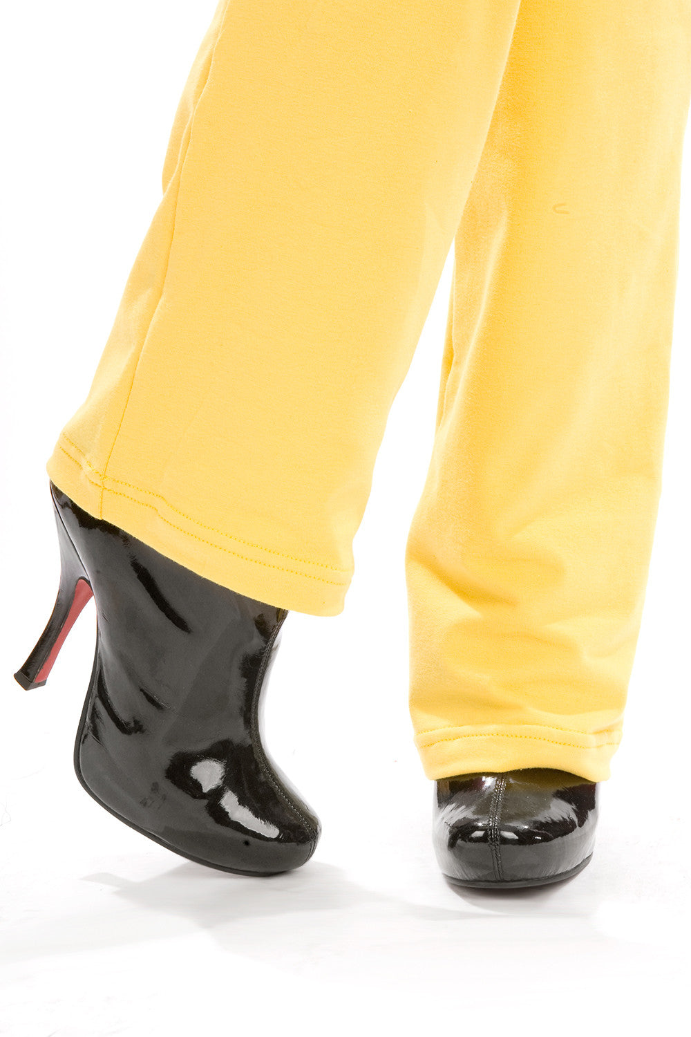 Snow White Pants with Purse & Chain