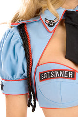 Sgt. Sinner Bolero with Collar & Tie