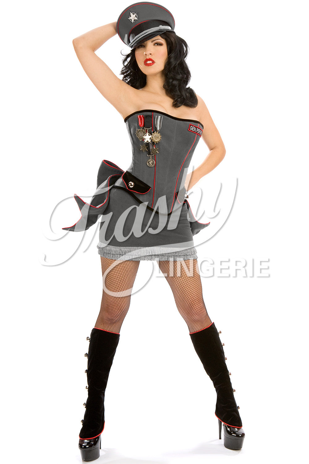 General Perversion Corset with Bow