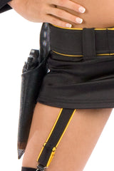 FBI Garter Skirt with Belt