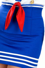 Pin-Up Sailor High Waisted Skirt