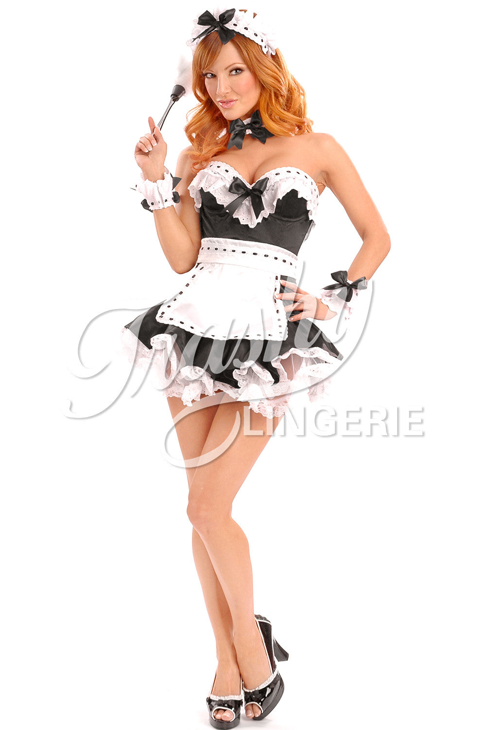 Maid Corset with Apron