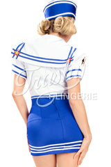 Pin-Up Sailor Cropped Jacket