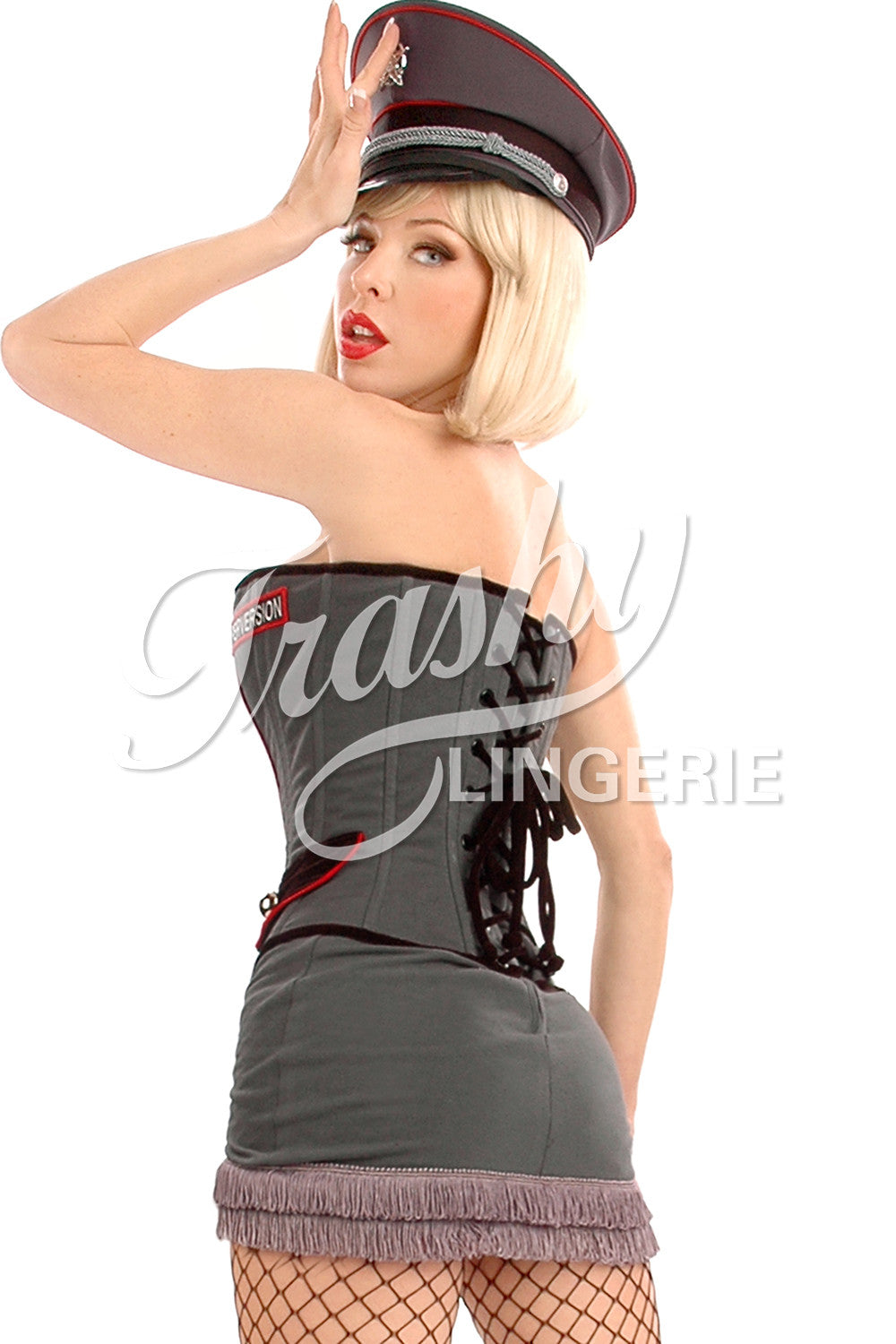 General Perversion Lace-Up Back Corset