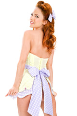 Stepford Double Scallop Apron