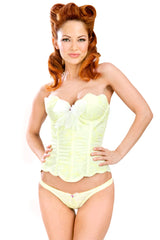 Stepford Scallop Cup Corset