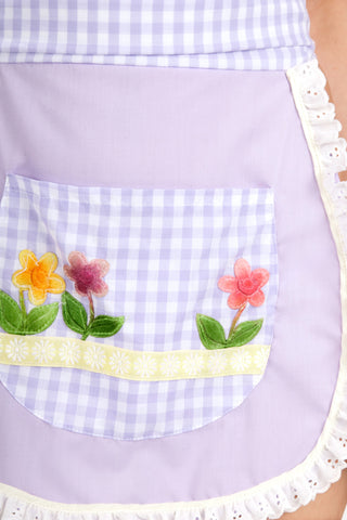 Stepford Half Round Front Apron with Bow