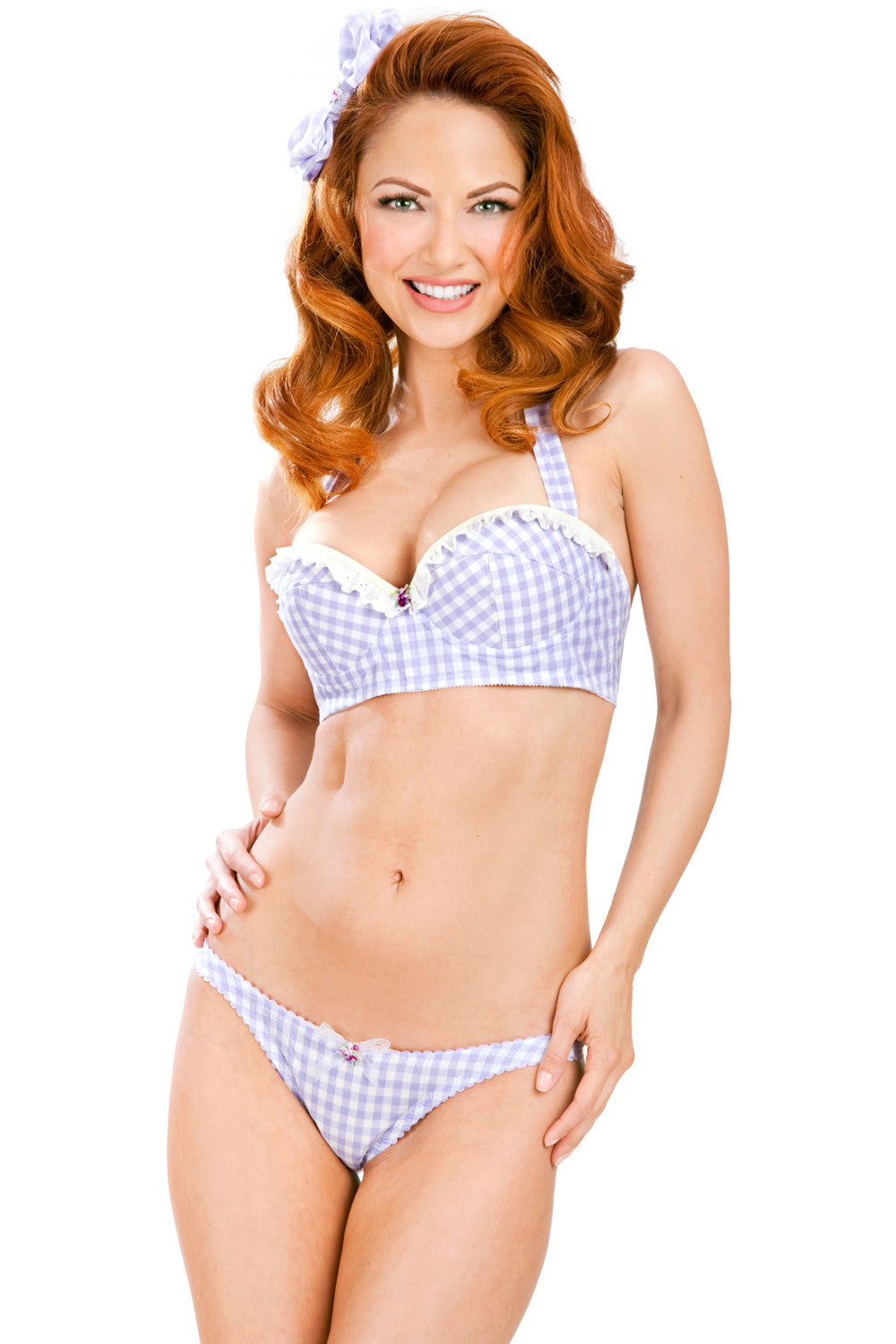 Edy Bra with Self-Tie Halter Strap