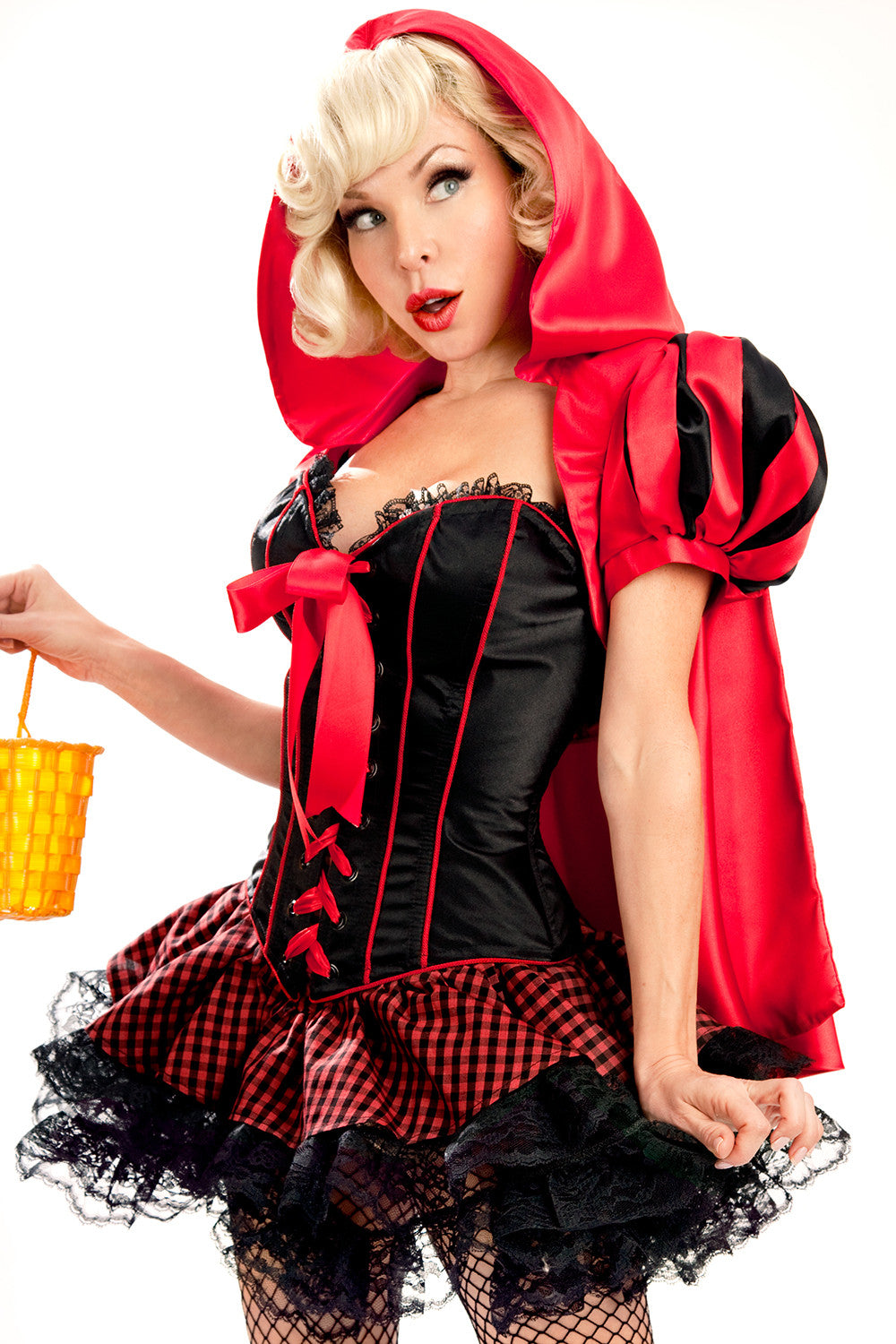 Little Red Riding Hood Deluxe Corset