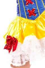 Satin Snow White Skirt