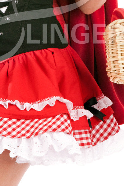 Bridgette Red Riding Hood Skirt