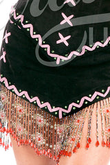 Lil White Dove Indian Beaded Skirt #2