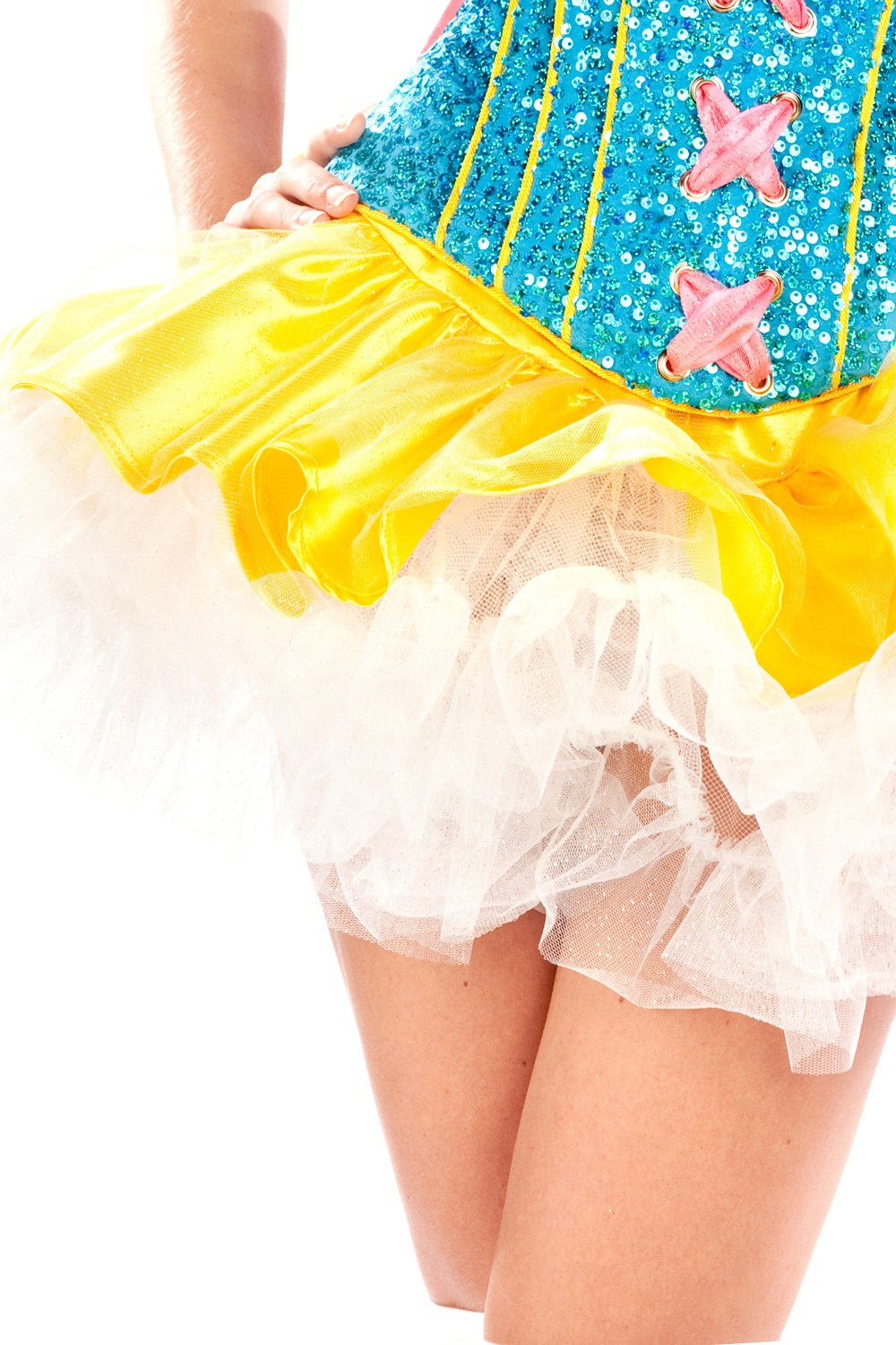Sequined Snow White Tutu