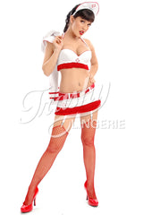 Burlesque Nurse Bra