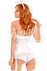 Carousel Angel Corset with Garters