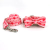 Pink Heart Collar Set