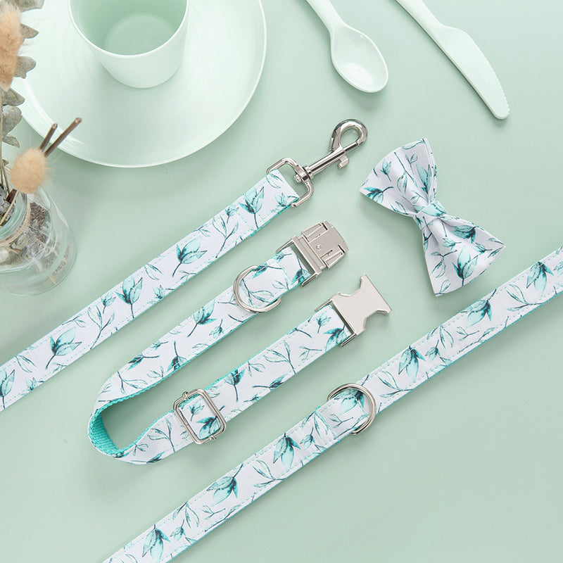 Fresh Leaves Collar Set