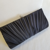 Classic Satin Evening Bag - available in a range of colours