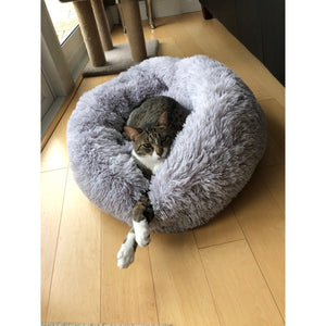 Calming Pet Bed - Calms, Relaxes and Eases Your Pet's Anxiety. Give your Cats and Dogs the Best Sleep Possible.