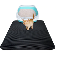 Load image into Gallery viewer, FUR BABY SOLUTIONS™ Waterproof Cat Litter Mat