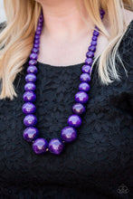 Load image into Gallery viewer, Paparazzi Accessories Effortlessly Everglades - Purple