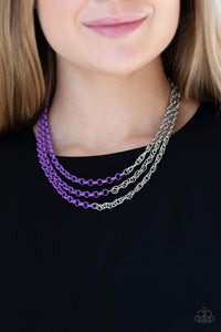 Paparazzi Accessories Turn Up The Volume - Purple
