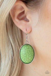 Paparazzi Accessories Serenely Sediment - Green