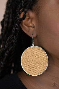 Paparazzi Accessories Wonderfully Woven - Brown