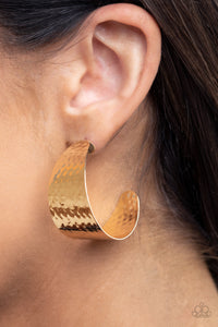 Paparazzi Accessories Flatten The Curve - Gold