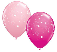 "Load image into Gallery viewer, 11"" Baby Girl Balloon (2 Pack)"