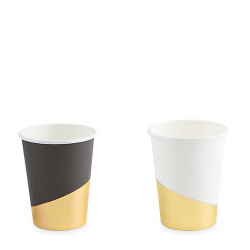Assorted Gold Dipped Cups (8)