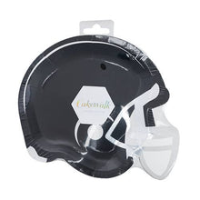 Load image into Gallery viewer, Football Helmet Appetizer Plate (8)