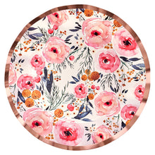 Load image into Gallery viewer, Blush Bouquet Wavy Dinner Plate (8)