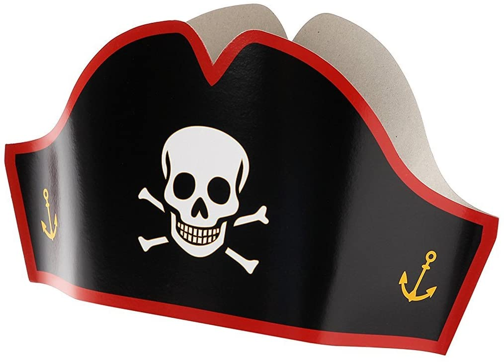 Pirate Paper Hats (8)